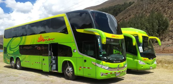 Ticket bus Puno – Cusco with tourist stops <span>(10hrs.)</span>